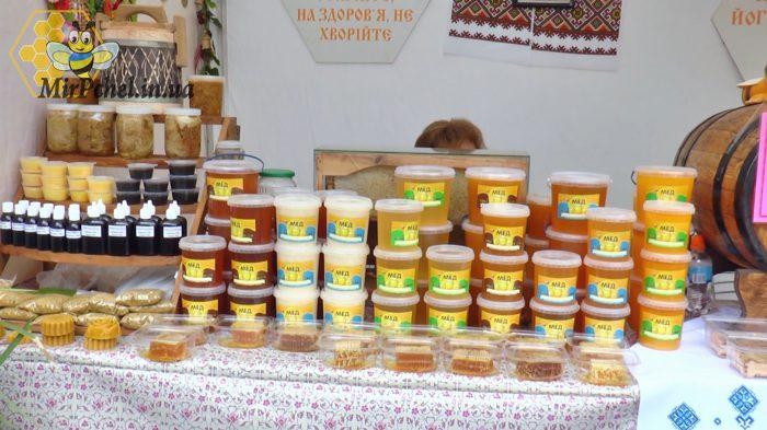 Выставка меда в день города в Белой Церкви 2018 г