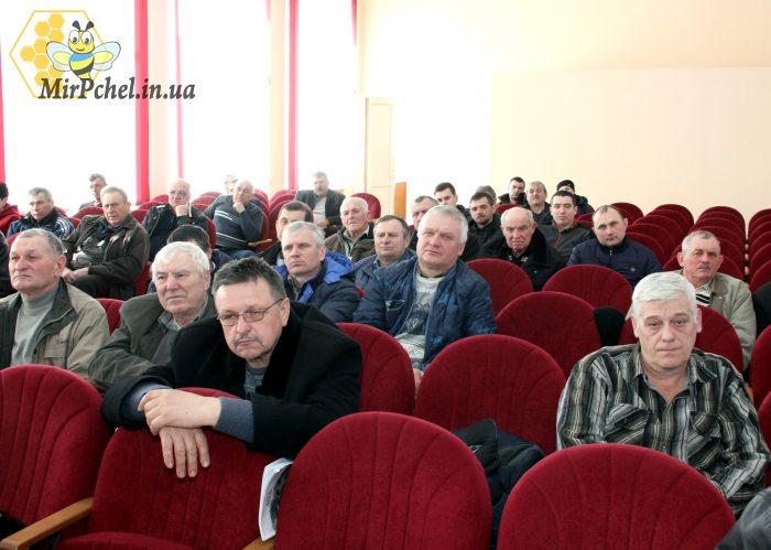 Встреча пасечников Белоцерковщины с мером г.Белая Церковь Генадием Диким.